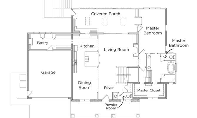 Craftsman Style House Plans Well Simple Small Floor