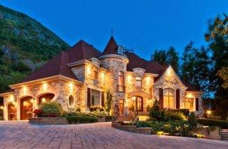 Custom Built House Canada Gorgeous Little Castle