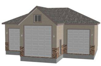 Custom Detached Garage Plans