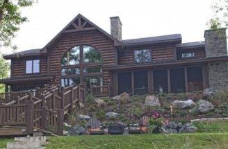 Custom Log Home Timber Frame Hybrid Floor Plans Wisconsin