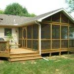 Deck Back Porch Design Houses Designs