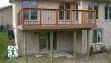 Deck Plan High Medium Single Level Rectangular