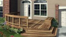 Deck Plans Find Right House Front Design