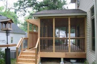 Decks Ideas Small Yard Design Fence Stair Deck