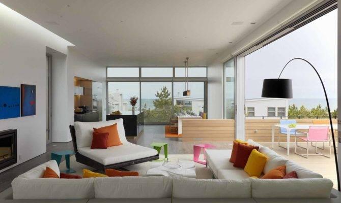 Dekorasi Desain Rumah Pantai Yang Indah Beach Home Living Room Decor