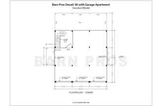 Denali Barn Garage Apartment Floorplans