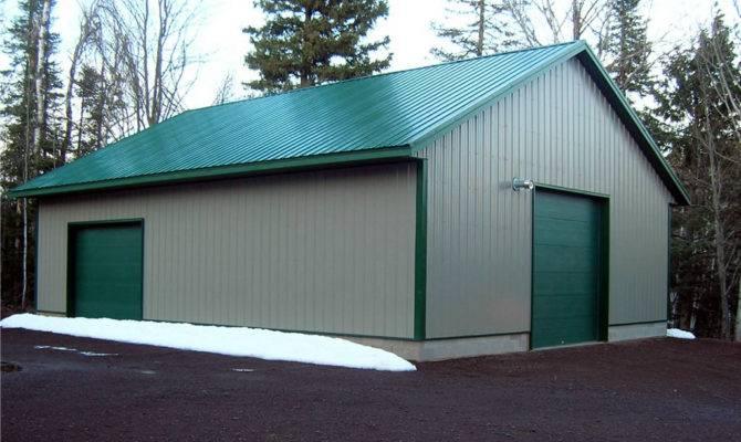 Design Build Construction Metal Exterior Shop Building