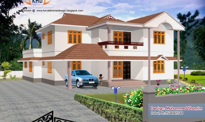 Design Home Elevation Designs House Renderings Kerala New Plans