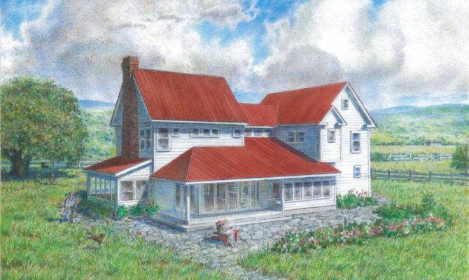 Design House Plans American Homestead Revisited Farmhouse