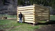 Design Idea Building Log Cabin