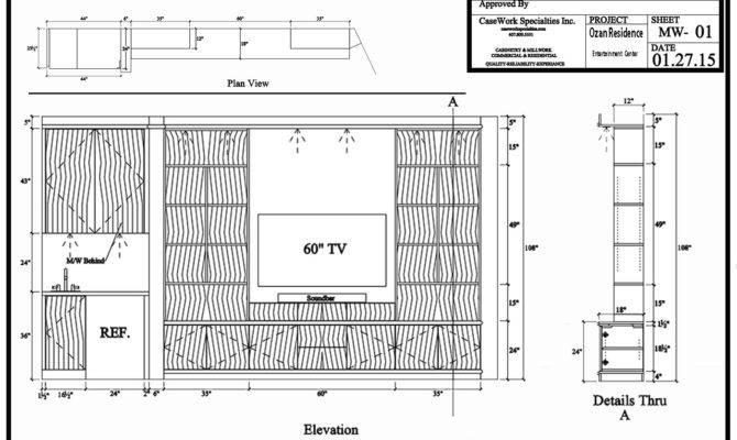 Design Plans Custom Closets Built Wall Units Remodel