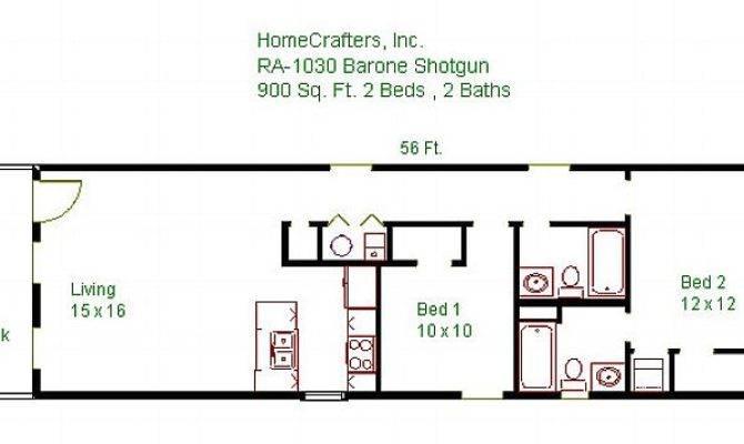 Design Shotgun House Plans Modern