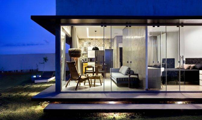 Designs Brilliant Box House Bold Interiors Interior Design