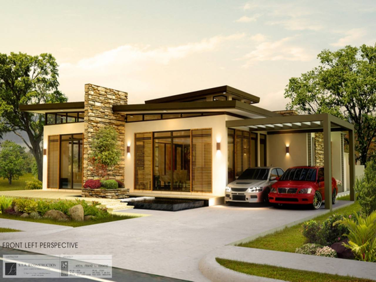 ^ Designs Modern Bungalow House Philippines New Design - Home ...
