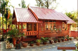 Details Thai Wooden House Planning Construction
