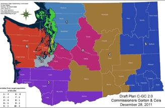 Digest Washington Redistricting Commission Releases New House Map