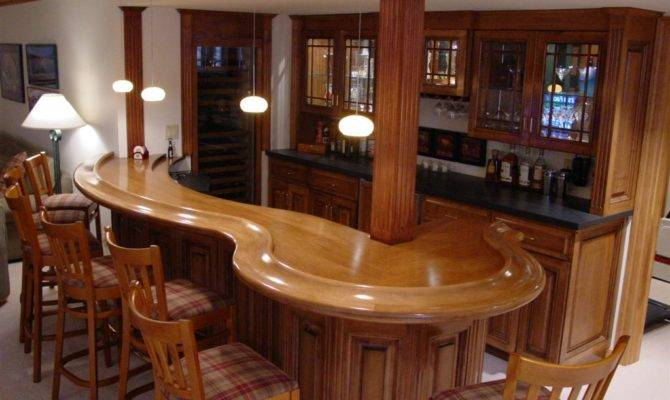Digital Imagery Above Other Parts Bar Designs Basement