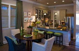 Dining Room Hgtv Eco Friendly Green Home Design Interior