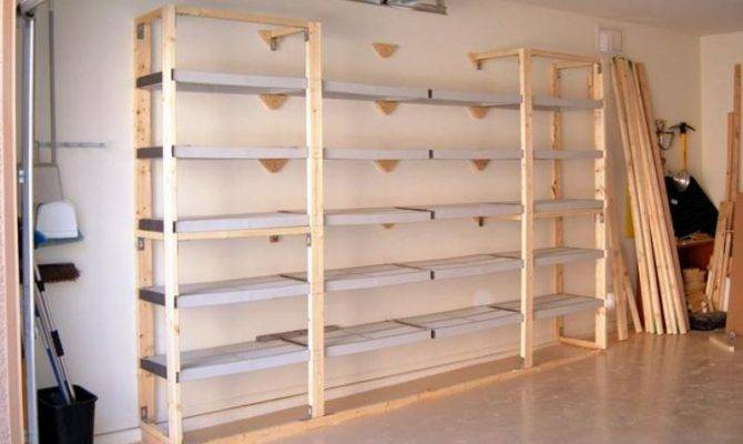 Diy Wood Storage Shelves Plans Scyci