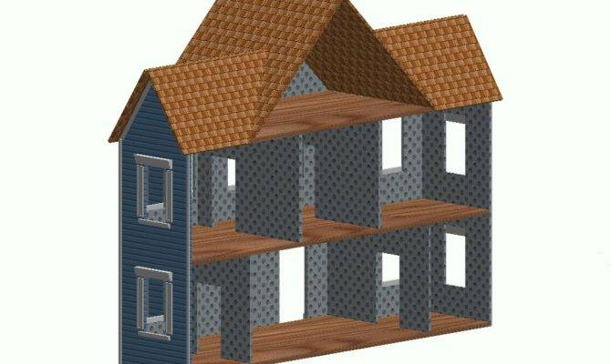 Doll House Building Plans