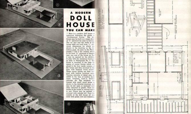 Dollhouse Plans Build