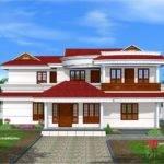 Double Floor Home Design Kerala Plans
