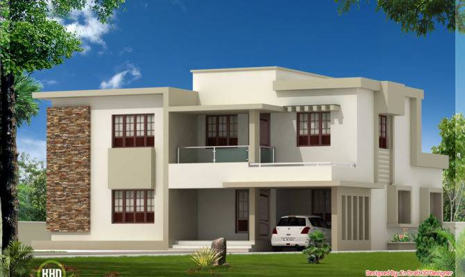 Double Storey Home Designs Modern