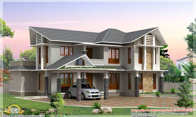 Double Storey House Kerala Home Design Plans
