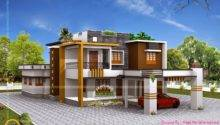 Double Storied Luxury Residence Kerala Home Design Floor Plans