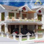 Double Story Home Design Kerala Floor Plans