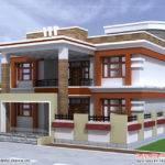 Double Story House Plan Kerala Home Design Floor Plans