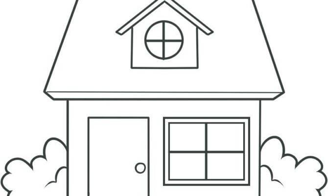 Draw House Kids Step Buildings Landmarks