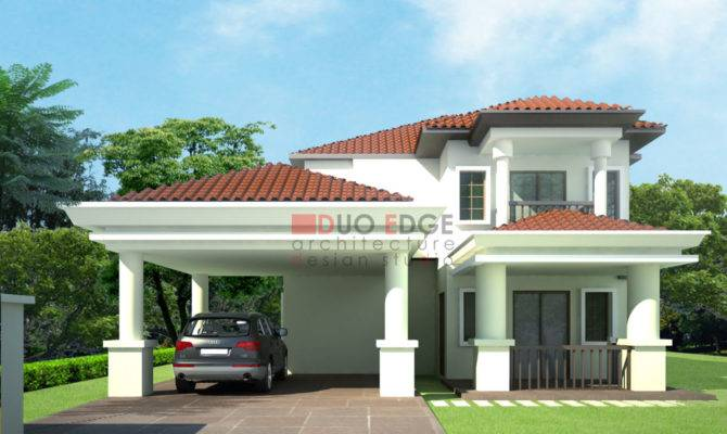 Duo Edge Architecture Design Studio Bungalow Proposal Kajang