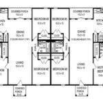 Duplex Floor Plans Design Single House Building