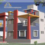 Duplex House Plan Elevation Home Appliance