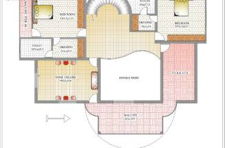 Duplex House Plan Elevation Kerala Home Design
