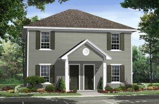 Duplex House Plans Two Story Multi Home Plan