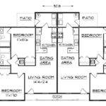 Duplex Plan Floor