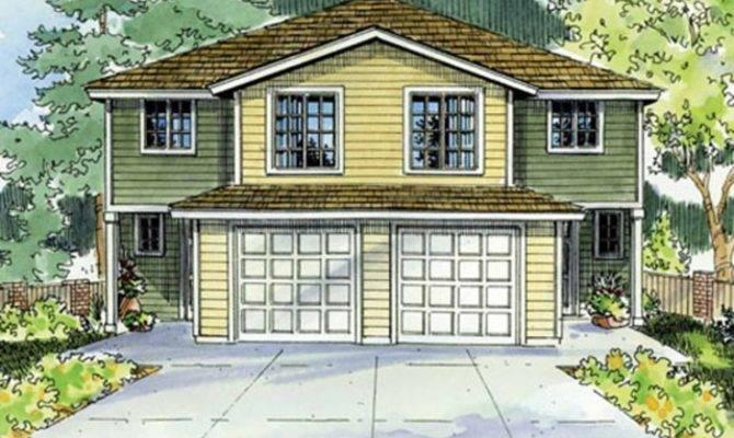 Duplex Townhouse House Plans Pinterest