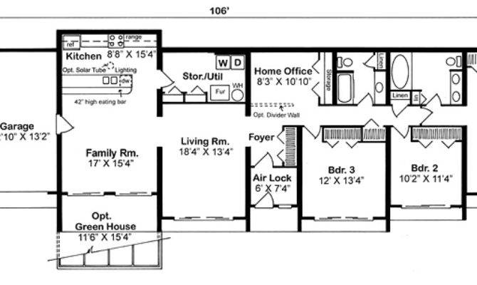 22 best simple earth contact house plans ideas home