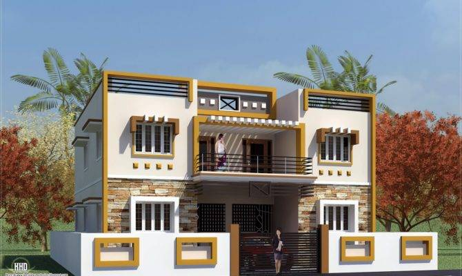 Eco Friendly Houses Box Type Tamilnadu House Design