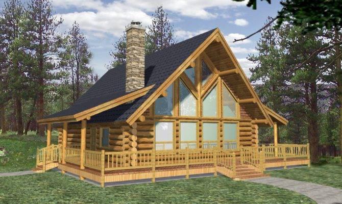 Efficientr Style Log Home Design Coast Mountain Homes