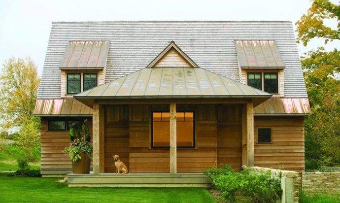 Elegant Home Roof Design Modern Touch Wood