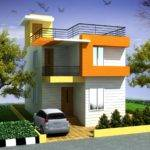 Elevation Duplex House Joy Studio Design Best