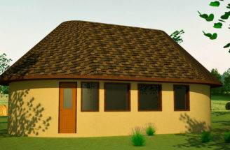 English Cottage Earthbag House Plans