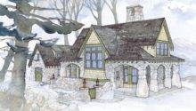 English Cottage Floor Plan Dream Home Pinterest