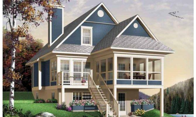 Eplans Bungalow House Plan Utterly Relaxing Square Feet