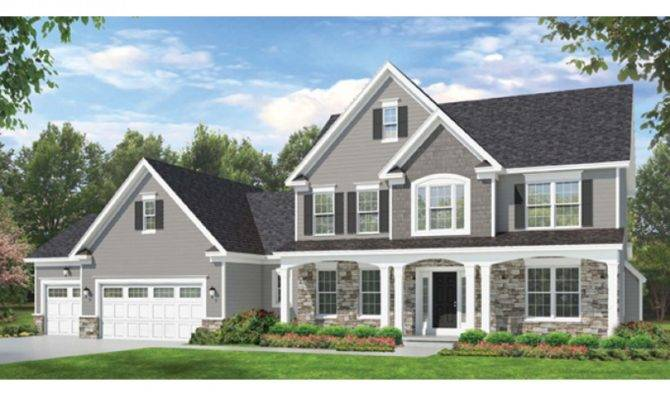 Eplans Colonial House Plan Space Counts Square