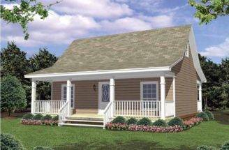 Eplans Cottage House Plan Charming Country Square Feet