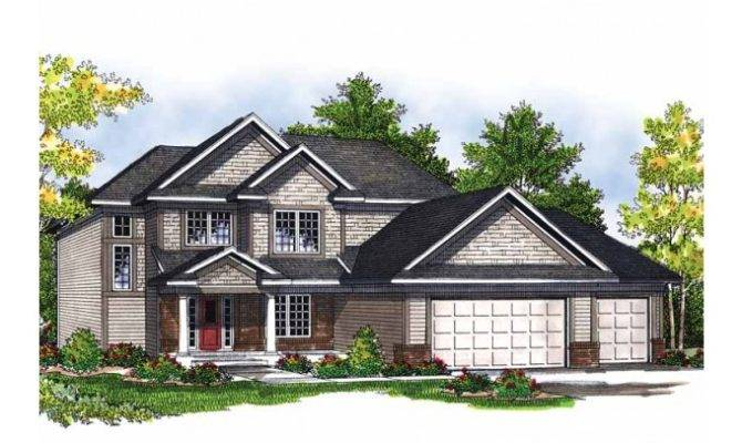 Eplans Cottage House Plan Style Two Story Square